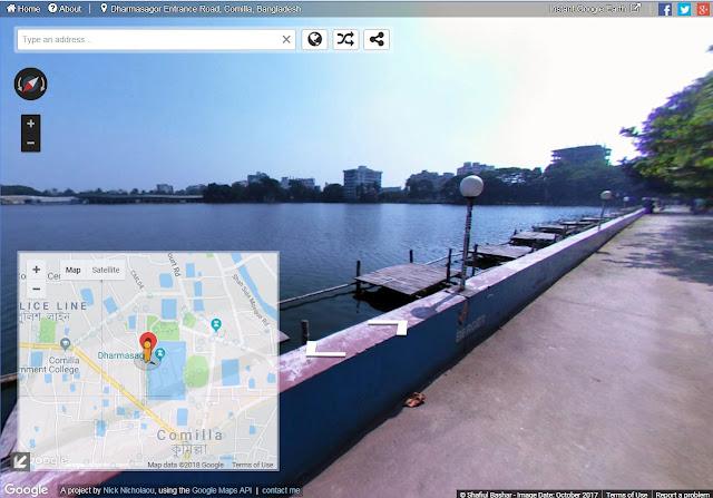 গুগল স্ট্রিট ভিউ, চলে এলো গুগল স্ট্রিট ভিউ, চলে এলো বাংলাদেশে গুগল স্ট্রিট ভিউ, google street view, google street view in Bangladesh,  চলে এলো বাংলাদেশে গুগল স্ট্রিট ভিউ