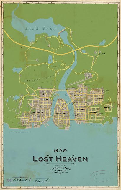 الكشف عن الخريطة الكاملة لعالم لعبة Mafia Definitive Edition و تغيرات كبيرة جداً