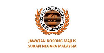 Jawatan Kosong Majlis Sukan Negara 2020 (MSN)