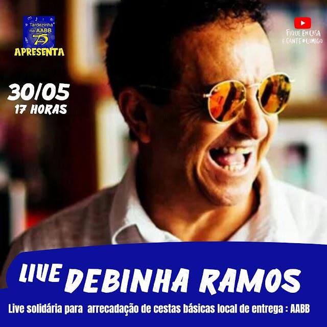 Sambista potiguar Debinha Ramos promove live solidária neste sábado