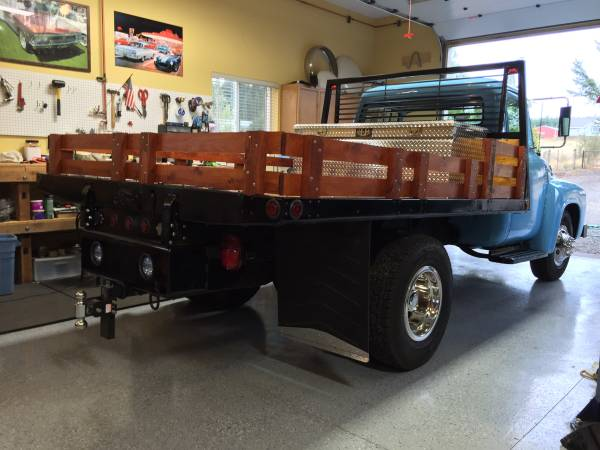 1956 Ford F350 Dually Flatbed Truck - Old Truck