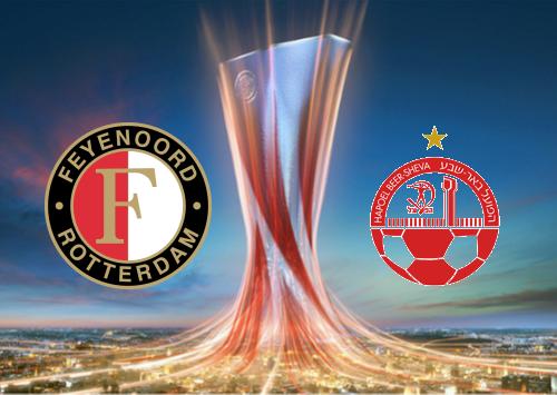 Feyenoord vs Hapoel Be'er Sheva - Highlights 22 August 2019