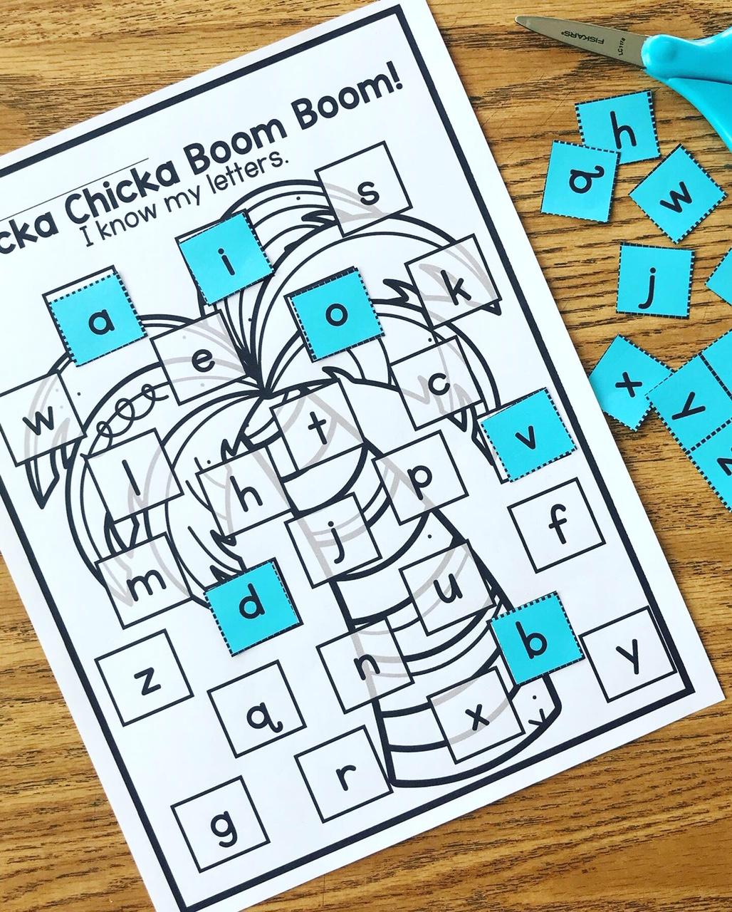 Chicka Chicka Boom Boom Craft And Activities Book Buddy