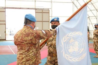 Transfer Of Authority Kontingen Garuda UNIFIL di Lebanon