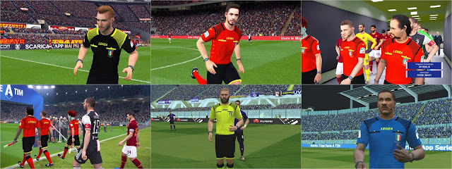 PES 2017 Referee Kits Seria A 2019-2020 by RND Creative PES