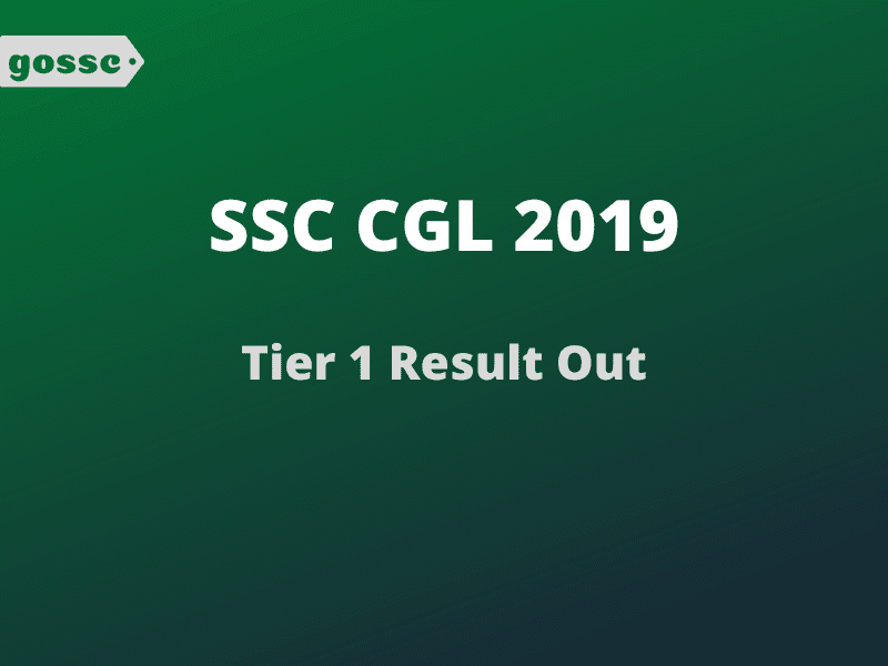 Download SSC CGL 2019 Result