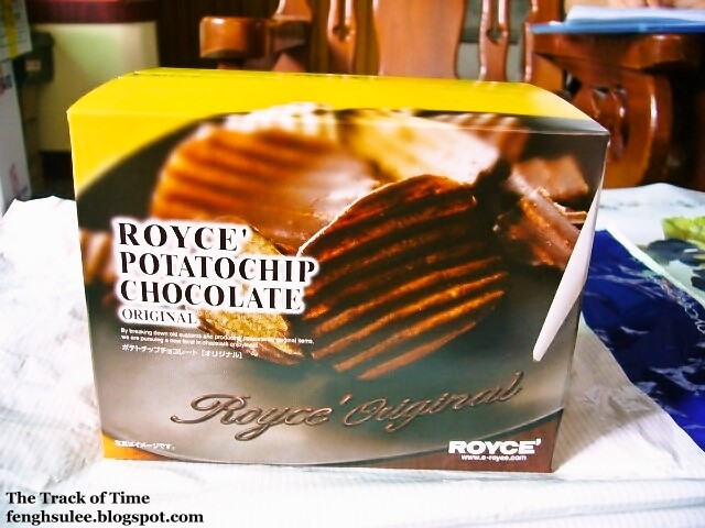 Royce Potatochip Chocolate Original | The Track of Time