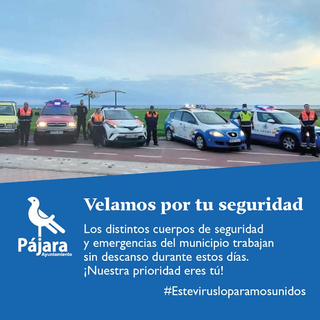 Fuerteventura Pajara Velamos%2Bpor%2Btu%2Bseguridad - Fuerteventura.-  Cuerpos de seguridad y emergencias del municipio de Pájara trabajan sin descanso