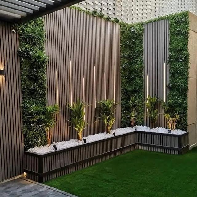 شركة تنسيق حدائق بأحد رفيدة تركيب شلالات ونوافير وعشب صناعي