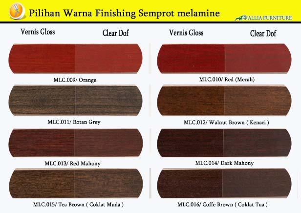 Warna Finishing Furniture Semprot Melamine 2