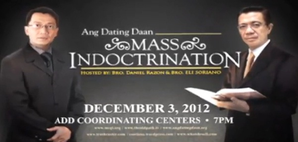 Ang dating daan mass indoctrination schedule 1. interracial dating central mental hospital dundrum.