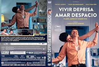 CARATULA VIVIR DEPRISA AMAR DESPACIO 2019[COVER DVD]