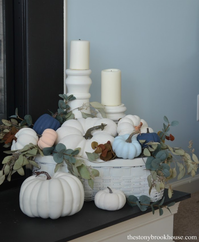 Softer fall decor