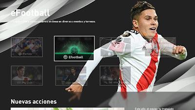 PES 2020 River Plate Menu Mod by Lucasvillakapo