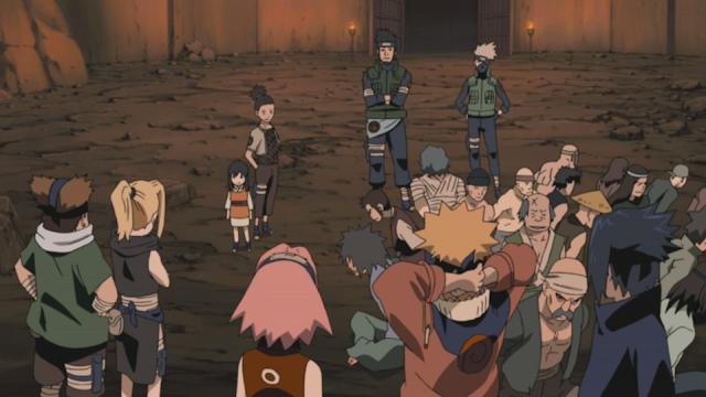 Naruto: Shippuden Season 9, Masa Lalu: Lokus dari Konoha