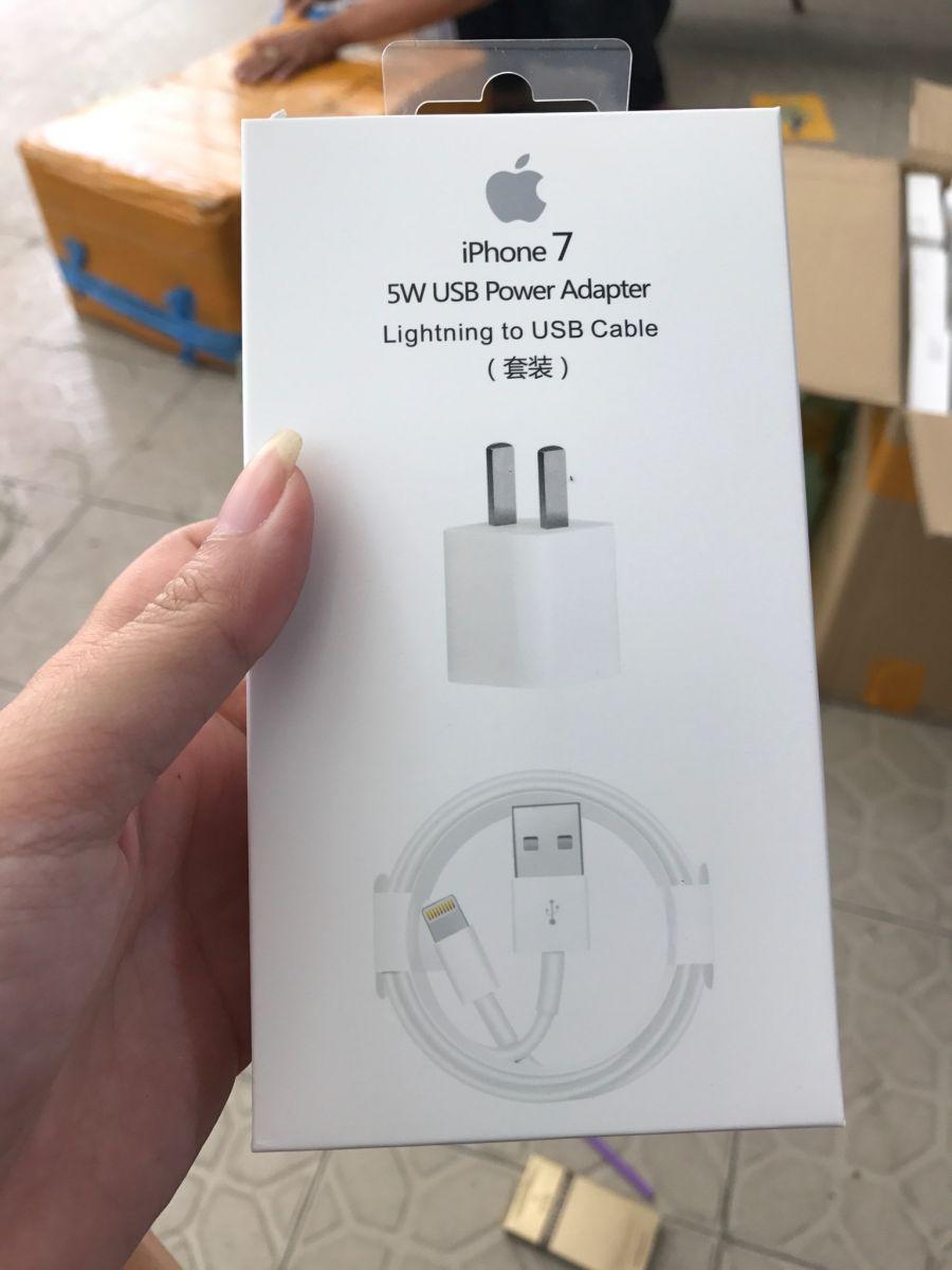 52k - Bộ sạc iPhone 7 zin giá sỉ và lẻ rẻ nhất