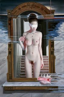 Desnudos de Mujeres Chinas al Oleo