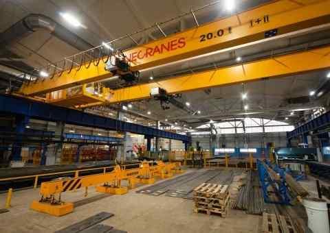 Crane material handling