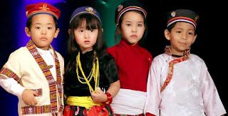 Tamang kids