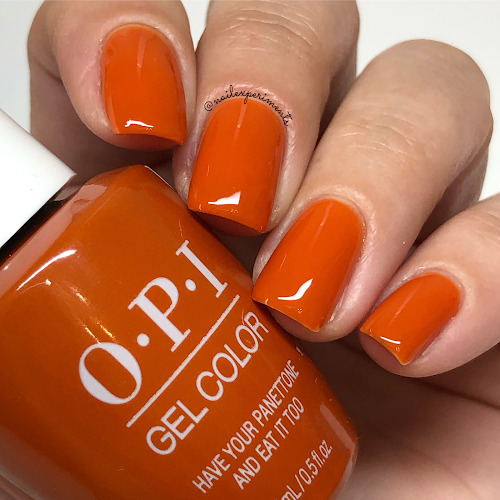 opi have your panettone and eat it too gel color muse of milan fall 2020