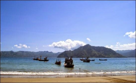 objek wisata Pantai Prigi
