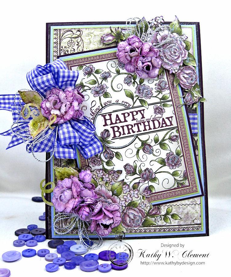 Really Reasonable Ribbon Blog Purple Plaid Ribbon And Purple Roses