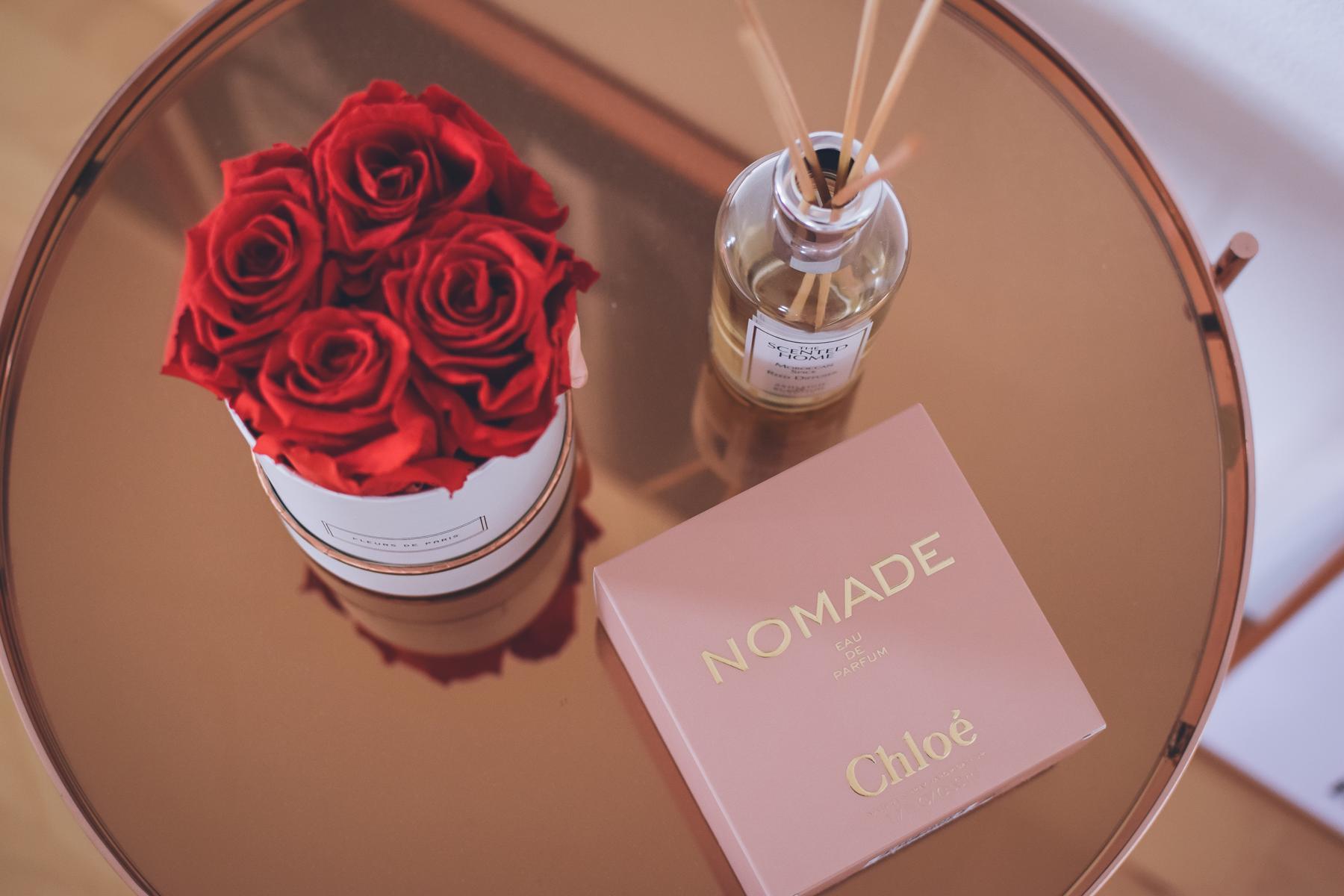 Pudriger Parfüm-Duft namens Chloe Nomade