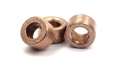 Custom Silicon Bronze Sleeve Bearings