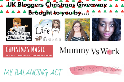 Giveaway blog logos, in collage form