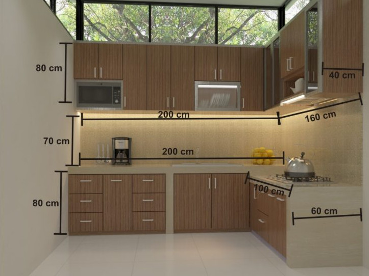 Cara Membuat Lemari Dapur Sendiri di Rumah  Rumah Asri Minimalis