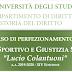 Aperte le iscrizioni per il Corso in diritto sportivo e giustizia sportiva Lucio Colantuoni alla Statale di Milano