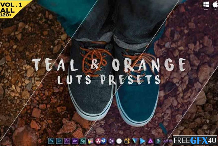 Teal And Orange 130 Luts And Presets