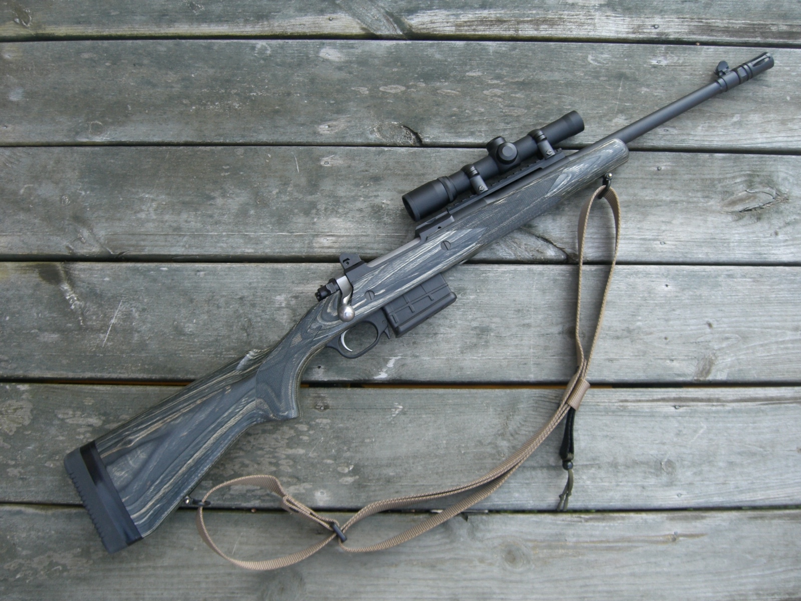 How would you set up the Ruger Scout Rifle - Survivalist Forum