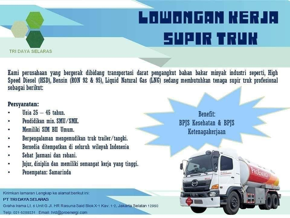Olx Loker Supir Jakarta Utara