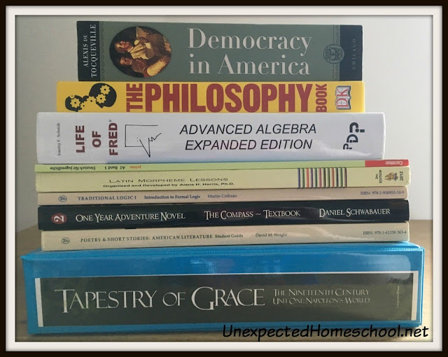 Unexpected Homeschool: 9th Grade Course of Study