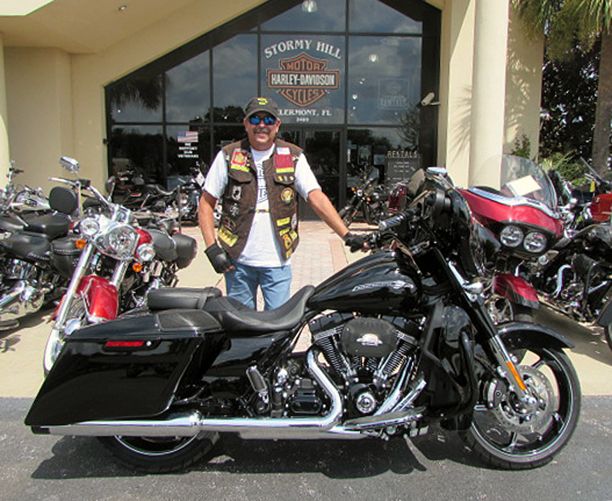 Tim Martin Is Ready To Ride On His New 2016 Flhxse Screamin Eagle Street Glide