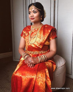 reception dress for south indian bride