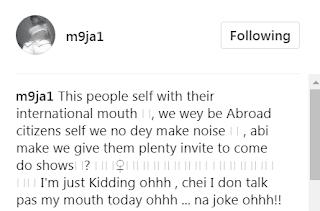 Maheeda's Hilarious Reaction To Wizkid, Davido And Tekno's International Rant
