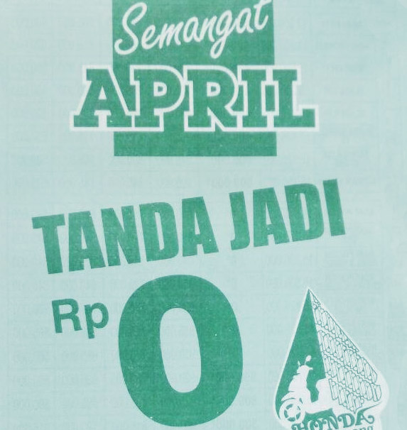 Promo Semangat April DP 0%