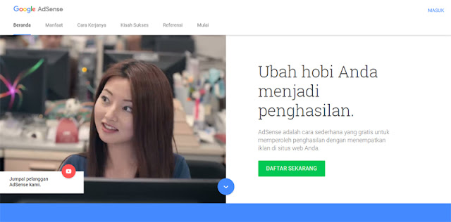 Cara Memasang Iklan Google Adsense di dalam Postingan Blog