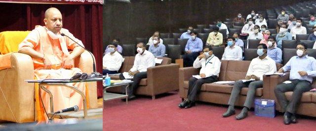 मुख्यमंत्री योगी ने गोरखपुर एवं बस्ती मण्डल में संचारी रोगों के नियन्त्रण की समीक्षा की Chief Minister Yogi reviewed the control of communicable diseases in Gorakhpur and Basti divisions                                                                                                                                                        संवाददाता, Journalist Anil Prabhakar.                                                                                               www.upviral24.in
