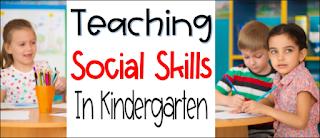 Social Emotional Skills through Literature.  Using books to teach Social skills to kindergarten students.