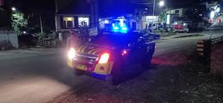 Antisipasi Tindak Kriminal, Polsek Alla Rutin Laksanakan Patroli Malam