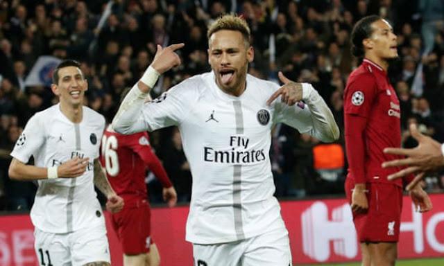 """Đẩy Liverpool vào """"cửa tử"""", Neymar vượt Kaka lập kỷ lục đáng nể cúp C1 1"""