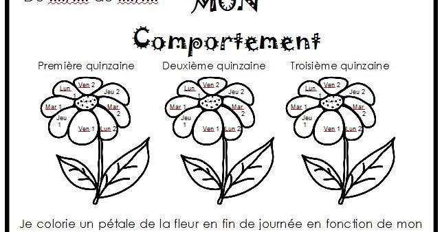 Le Presquewonder Maicresse Blog Gestion Du Comportement Fleur Du