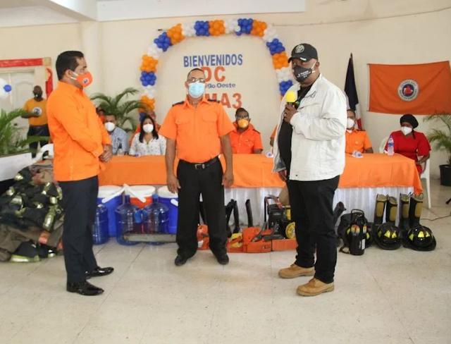 Juramentan nuevo director de la Defensa Civil de Santo Domingo Oeste de Santo Domingo Oeste