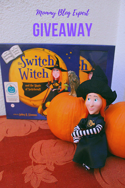 Switch Witch Halloween Kids Toy Book Giveaway