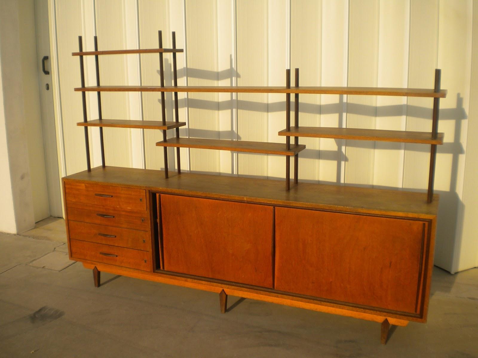 De vintage movel aparador vintage tola sucupira for Mobiliario anos 50