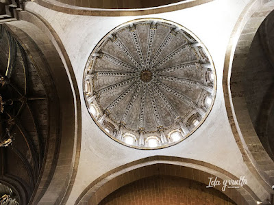 Catedral Zamora cúpula interior