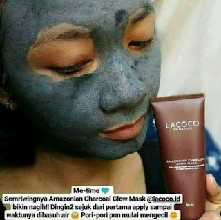 Jual charcoal mask nasa